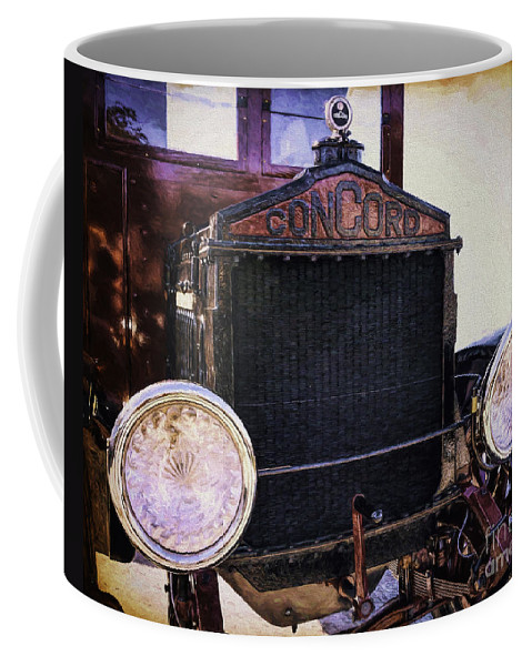 Auto Coffee Mug featuring the photograph Boarding The Concord by Joe Geraci