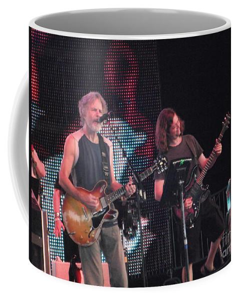 Bob Coffee Mug featuring the photograph Bob Weir And John K. - Furthur by Susan Carella