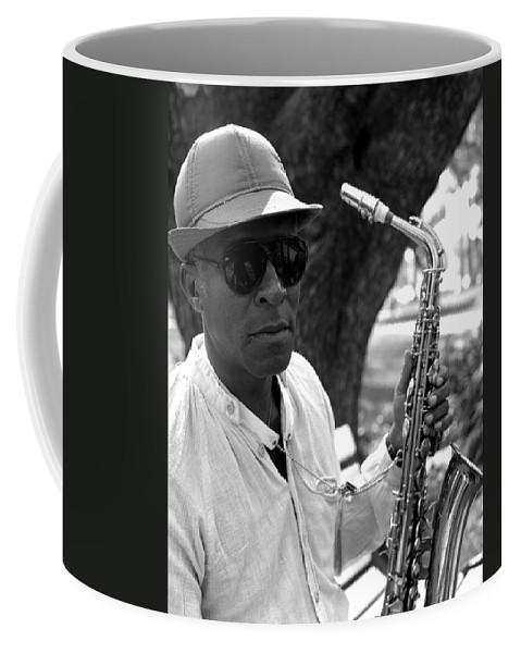 Portrait Coffee Mug featuring the photograph Bob by Lee Santa