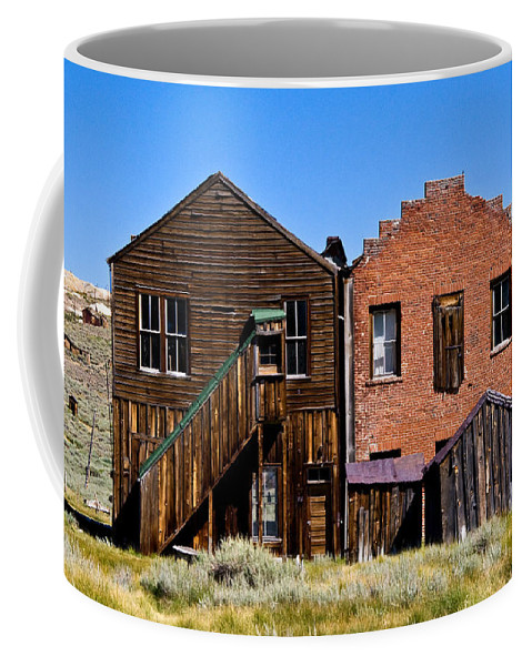 Bodie Siblings Coffee Mug featuring the photograph Bodie Siblings by Chris Brannen