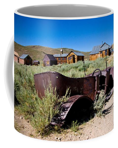 Bodies Bucket Of Bolts Coffee Mug featuring the photograph Bodies Bucket Of Bolts by Chris Brannen