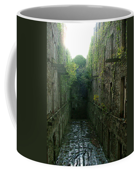 Bodmin Coffee Mug featuring the photograph Bodmin Gaol by Heather Lennox