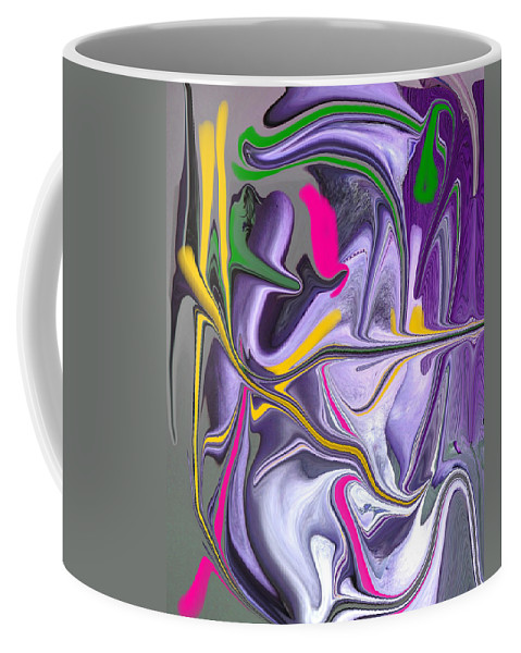 Abstract Coffee Mug featuring the photograph Body Language by Allan Hughes