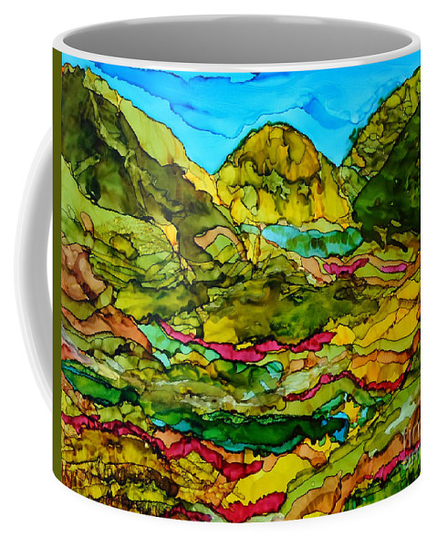 Bohol Pilippines Coffee Mug featuring the painting Bohol Pilippines by Vicki Housel