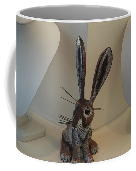 Rabbit Coffee Mug featuring the photograph Boink Rabbit by Rob Hans