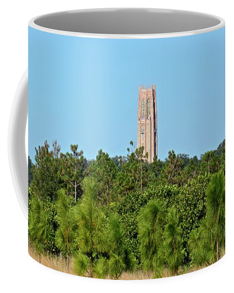 Bok Tower Coffee Mug featuring the photograph Bok Tower In December by Carol Bradley