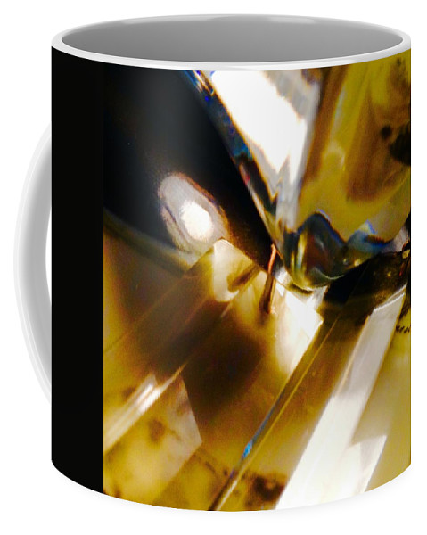 Coffee Mug featuring the photograph Bold Golden Glow by Jacqueline Manos