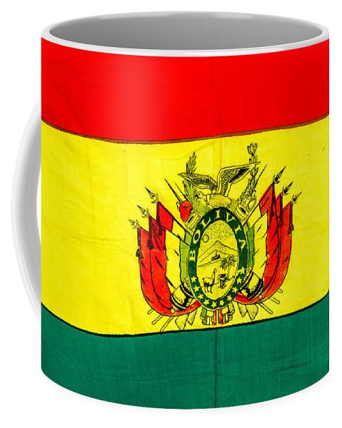 Bolivia Coffee Mug featuring the photograph Bolivian Flag by Jess Kraft