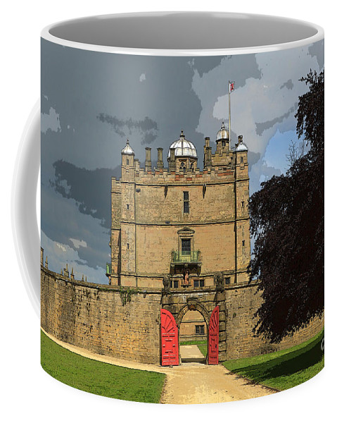 Castle Coffee Mug featuring the photograph Bolsover Castle by Louise Heusinkveld
