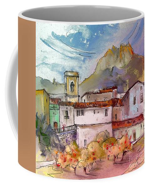 Bolulla Coffee Mug featuring the painting Bolulla 02 by Miki De Goodaboom