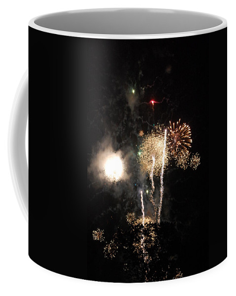 Firwworks Coffee Mug featuring the photograph Bombs1 by David Lane