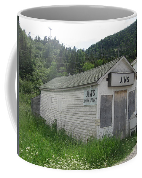 Photograph Bonne Bay Newfoundland Army Navy Store Coffee Mug featuring the photograph Bonne Bay2 by Seon-Jeong Kim