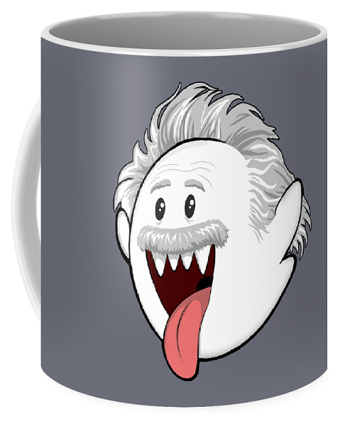 Boo Coffee Mug featuring the digital art Boo-Stein by Olga Shvartsur