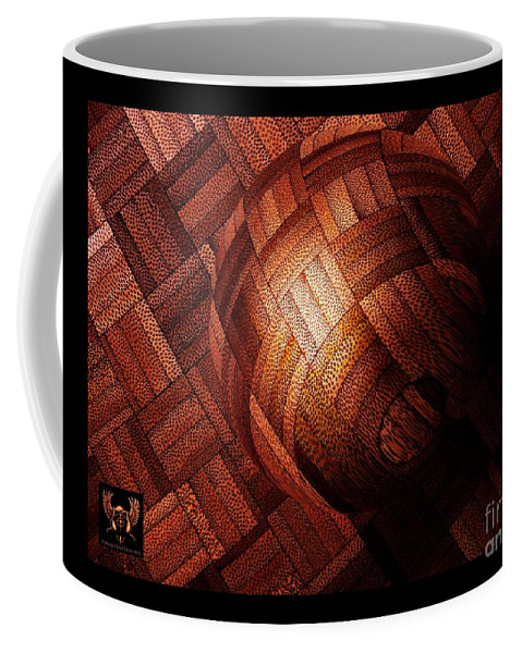 Colorful Coffee Mug featuring the photograph Booball by Dale Crum
