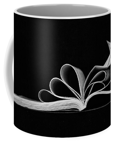 Books Coffee Mug featuring the photograph Book by Joy Schmitz