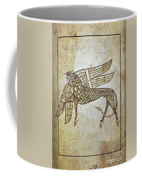 680 Coffee Mug featuring the photograph Book Of Durrow, C680 A.d by Granger