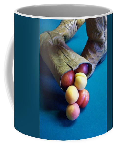 Cowboy Boots Coffee Mug featuring the photograph Boot-a-copia by Laurette Escobar