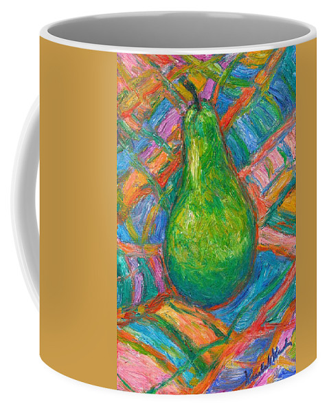 Still Life Coffee Mug featuring the painting Bosc Beauty by Kendall Kessler