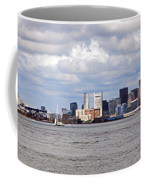 Boston Coffee Mug featuring the photograph Boston Skyline by Armand Hebert
