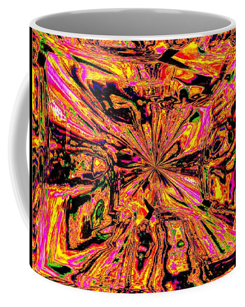 Abstract Coffee Mug featuring the photograph Bottled Up by Tim Allen