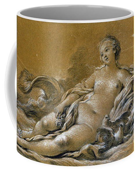 18th Century Coffee Mug featuring the photograph Boucher: Venus by Granger
