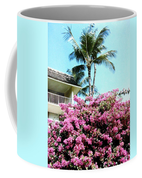 1986 Coffee Mug featuring the photograph Bougainvillea by Will Borden