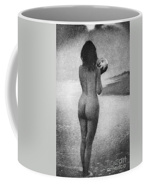 1909 Coffee Mug featuring the photograph Boughton: Dawn, 1909 by Granger