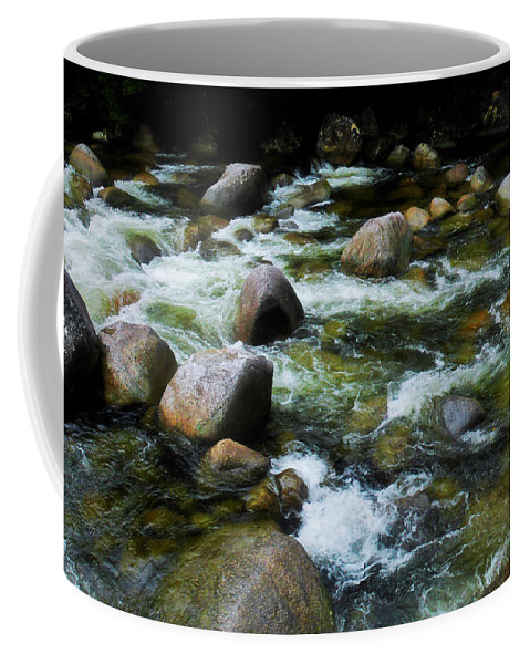 Tropical Queensland Series By Lexa Harpell Coffee Mug featuring the photograph Boulders - Mossman Gorge, Far North Queensland, Australia by Lexa Harpell