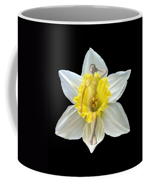 Nudes Coffee Mug featuring the photograph Bouquet by Kurt Van Wagner