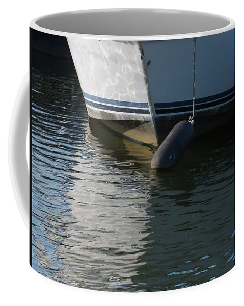 Photography Coffee Mug featuring the photograph Bow And Fender by J R Seymour