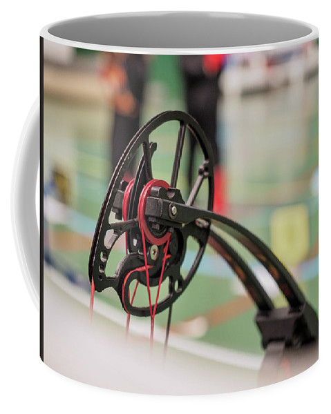 Bow Coffee Mug featuring the photograph Bow by Hector Lacunza