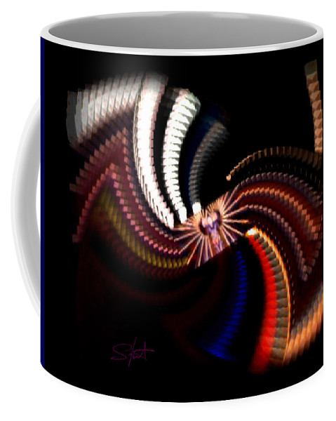 Chaos Coffee Mug featuring the photograph Bow Tie by Charles Stuart