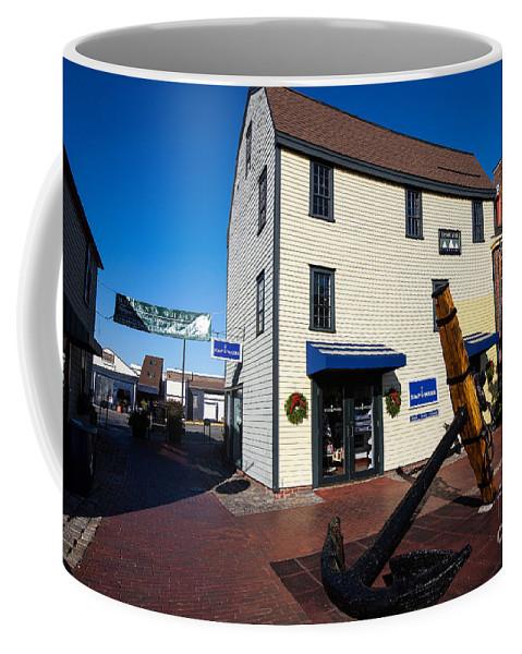Travel Coffee Mug featuring the photograph Bowen's Wharf Newport Rhode Island by Jason O Watson