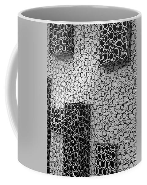 Box Coffee Mug featuring the photograph Box Circles Squared 2 by Rob Hans