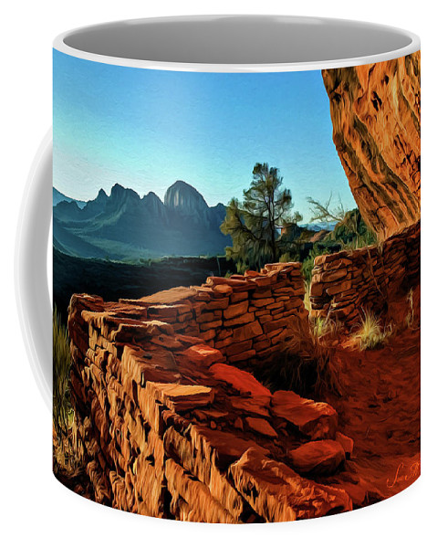 Sedona Coffee Mug featuring the photograph Boynton II 04-008 by Scott McAllister
