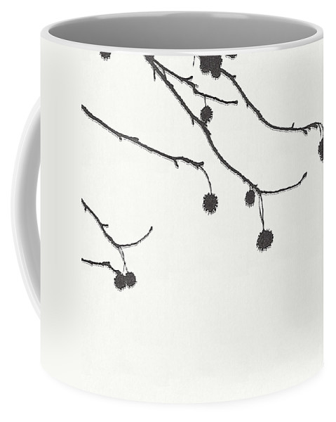 Graphic Design Coffee Mug featuring the digital art Branches by Tonya Doughty