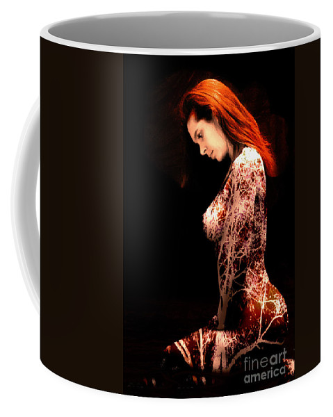 Clay Coffee Mug featuring the photograph Branching Out by Clayton Bruster