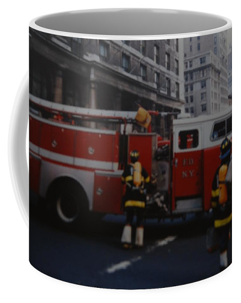 Fdny Coffee Mug featuring the photograph Bravest Of The Brave by Rob Hans