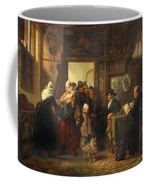 Charles Meer Webb Coffee Mug featuring the digital art Bread And Alms by Mark Carlson