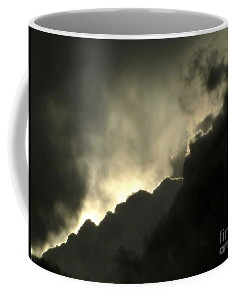 Storm Clouds Coffee Mug featuring the photograph Break In The Storm by Marilyn Smith