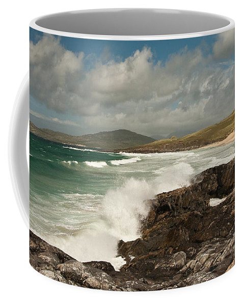 Scotland Coffee Mug featuring the photograph Breakers by Colette Panaioti