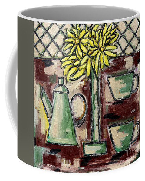 Breakfast Coffee Mug featuring the painting Breakfast by Patrick J Murphy