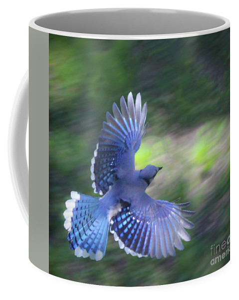 Photography Coffee Mug featuring the photograph Breaking Jay by Steven Munger