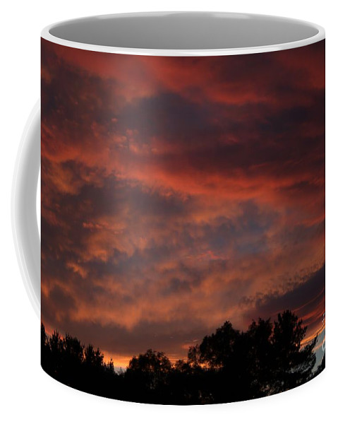 Storm Coffee Mug featuring the photograph Breaking Up by Kenny Glotfelty