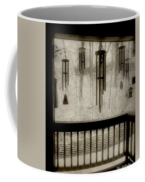 Balcony Coffee Mug featuring the photograph Breathe Deep The Gathering Gloom by RC DeWinter