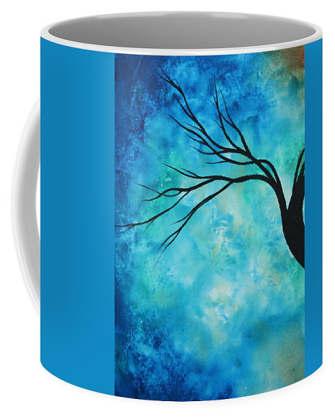 Art Coffee Mug featuring the painting Breathless 1 By Madart by Megan Duncanson