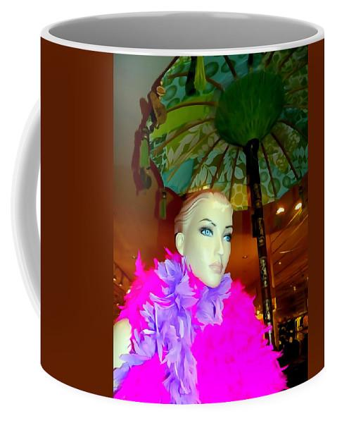 Digital Coffee Mug featuring the photograph Breathtaking In Boas by Ed Weidman