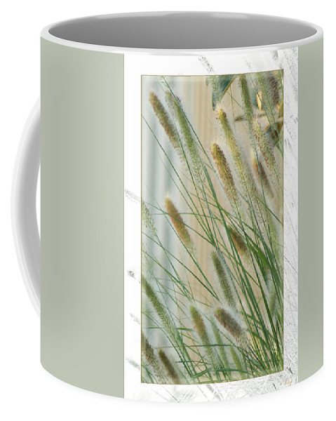 Floral Coffee Mug featuring the photograph Breeze by Holly Kempe