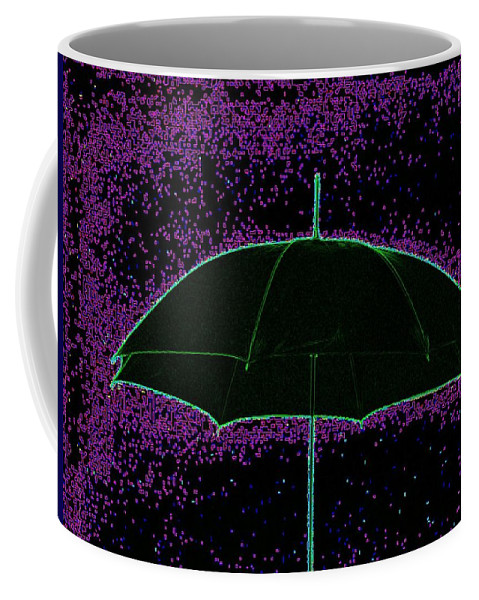 Umbrella Coffee Mug featuring the photograph Brella by Tim Allen