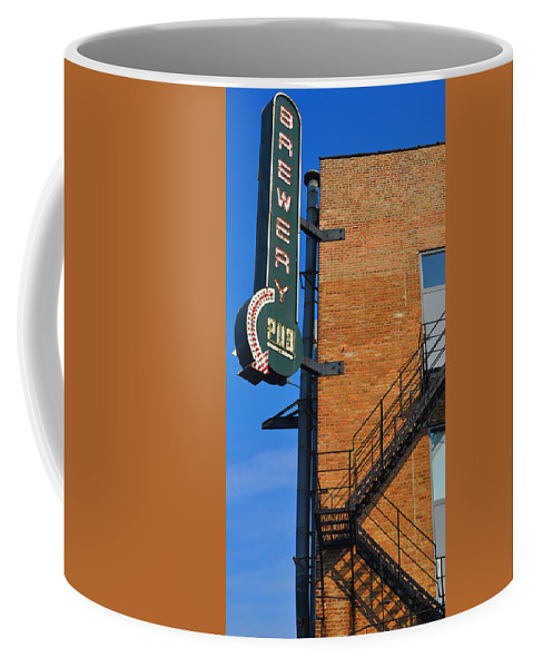 Chicago Coffee Mug featuring the photograph Brewery Pub by Tim Nyberg